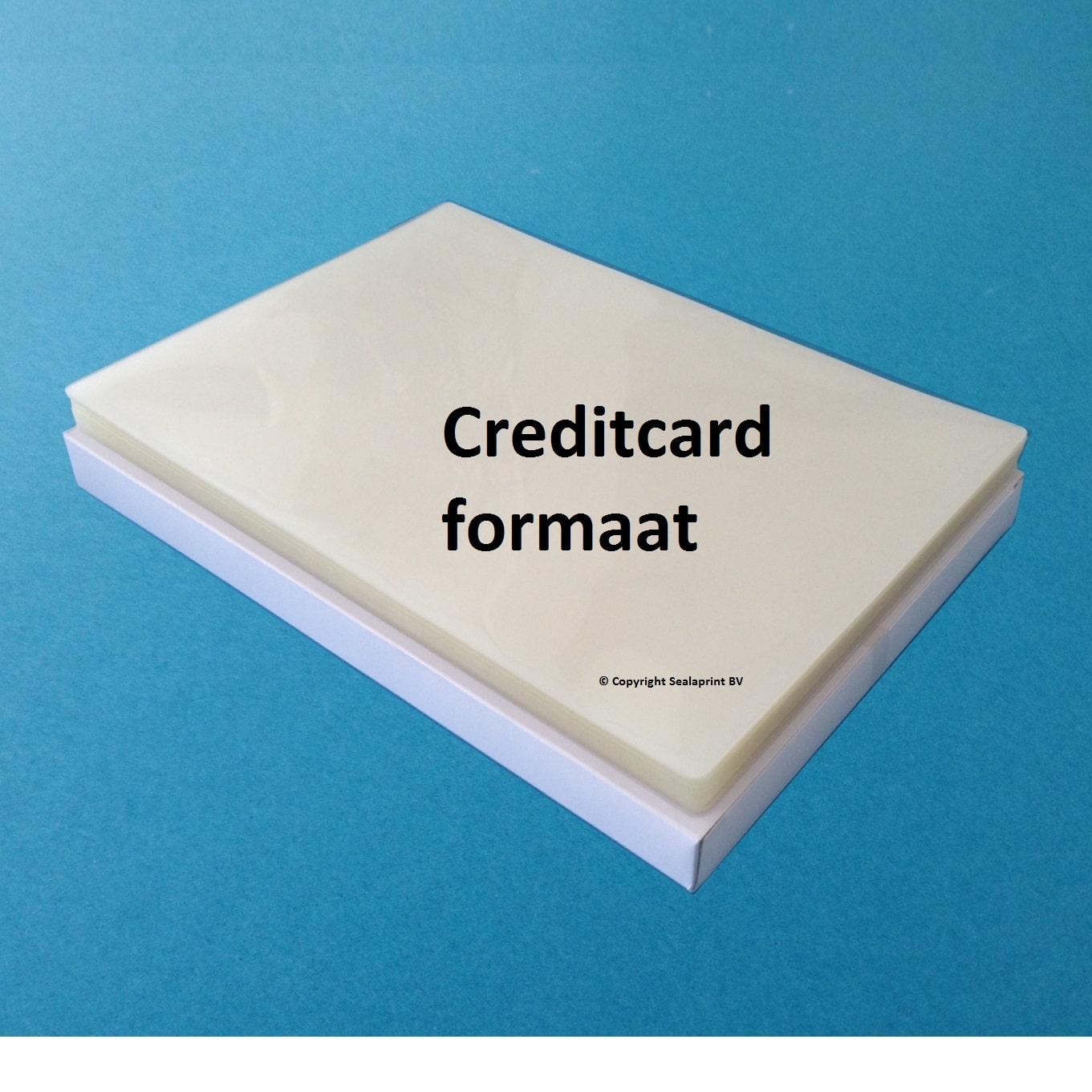 lamineerhoes tumb goed creditcard